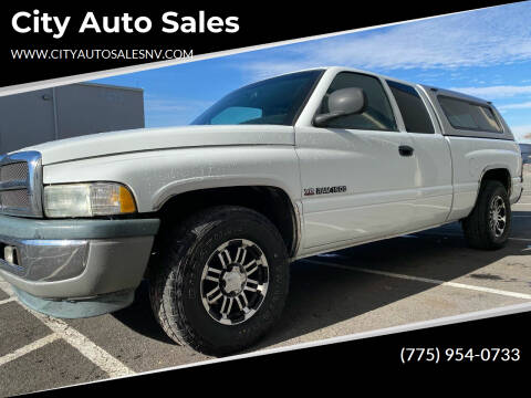 1999 Dodge Ram Pickup 1500 for sale at City Auto Sales in Sparks NV