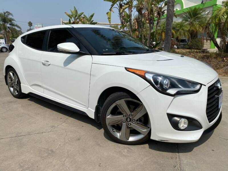 2013 Hyundai Veloster for sale at Luxury Auto Lounge in Costa Mesa CA