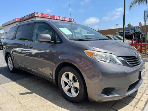 2011 Toyota Sienna for sale at CARCO SALES & FINANCE - CARCO OF POWAY in Poway CA