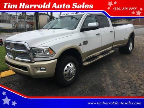 2014 RAM Ram Pickup 3500 for sale at Tim Harrold Auto Sales in Wilkesboro NC