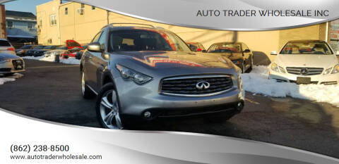 2009 Infiniti FX35 for sale at Auto Trader Wholesale Inc in Saddle Brook NJ