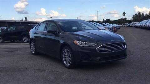 2020 Ford Fusion Hybrid for sale at Your First Vehicle in Miami FL