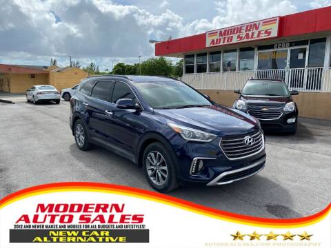 2017 Hyundai Santa Fe for sale at Modern Auto Sales in Hollywood FL