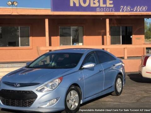 2012 Hyundai Sonata Hybrid for sale at Noble Motors in Tucson AZ
