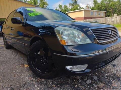 2002 Lexus LS 430 for sale at The Auto Connect LLC in Ocean Springs MS
