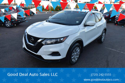 2020 Nissan Rogue Sport for sale at Good Deal Auto Sales LLC in Denver CO