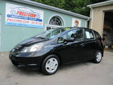 2012 Honda Fit for sale at Precision Automotive Group in Youngstown OH