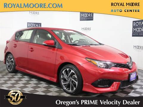2018 Toyota Corolla iM for sale at Royal Moore Custom Finance in Hillsboro OR