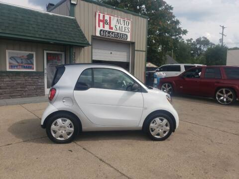 2016 Smart fortwo for sale at H & L AUTO SALES LLC in Wyoming MI