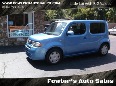 2014 Nissan cube for sale at Fowler's Auto Sales in Pacific MO