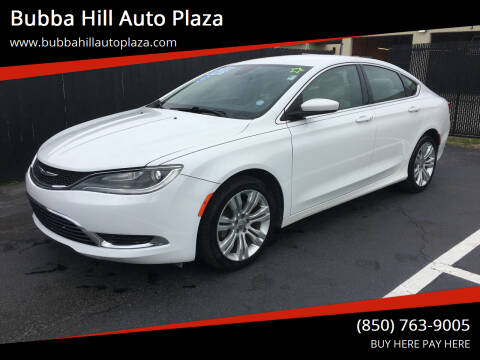 2015 Chrysler 200 for sale at Bubba Hill Auto Plaza in Panama City FL