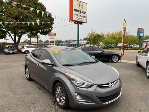 2014 Hyundai Elantra for sale at TDI AUTO SALES in Boise ID