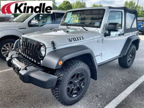 2015 Jeep Wrangler for sale at Kindle Auto Plaza in Middle Township NJ