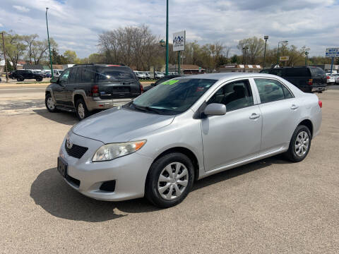 2009 Toyota Corolla for sale at Peak Motors in Loves Park IL