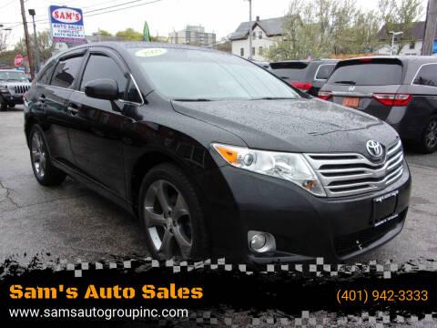 2009 Toyota Venza for sale at Sam's Auto Sales in Cranston RI