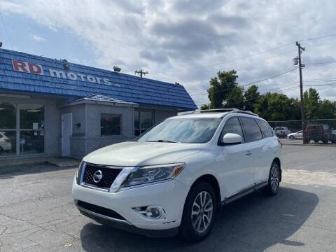 2013 Nissan Pathfinder for sale at RD Motors, Inc in Charlotte NC