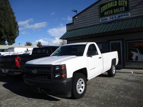 2014 Chevrolet Silverado 1500 for sale at Emerald City Auto Inc in Seattle WA