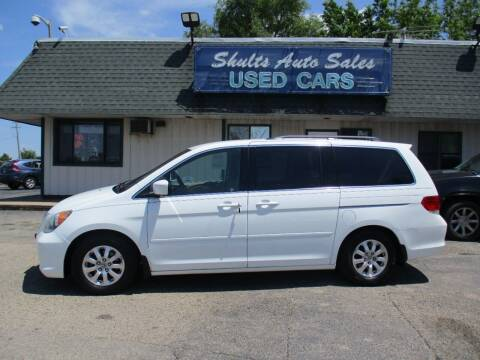 2008 Honda Odyssey for sale at SHULTS AUTO SALES INC. in Crystal Lake IL