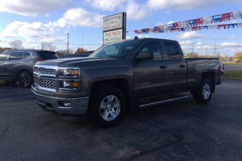 2014 Chevrolet Silverado 1500 for sale at Premier Auto Sales Inc. in Big Rapids MI