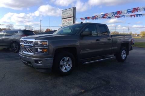 2014 Chevrolet Silverado 1500 for sale at Premier Auto Sales Inc. in Big Rapids MI