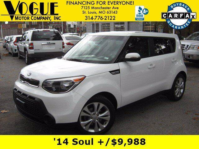 2014 Kia Soul for sale at Vogue Motor Company Inc in Saint Louis MO