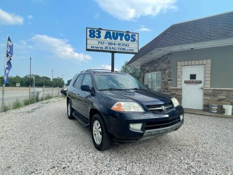 2003 Acura MDX for sale at 83 Autos in York PA