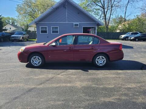2007 Chevrolet Malibu for sale at Deals on Wheels in Oshkosh WI