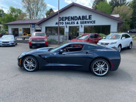 2015 Chevrolet Corvette for sale at Dependable Auto Sales and Service in Binghamton NY