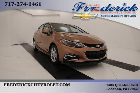 2017 Chevrolet Cruze for sale at Lancaster Pre-Owned in Lancaster PA