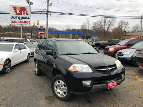 2002 Acura MDX for sale at KB Auto Mall LLC in Akron OH