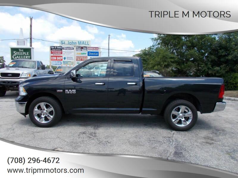 2015 RAM Ram Pickup 1500 for sale at Triple M Motors in Saint John IN