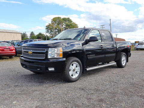 2012 Chevrolet Silverado 1500 for sale at Terrys Auto Sales in Somerset PA