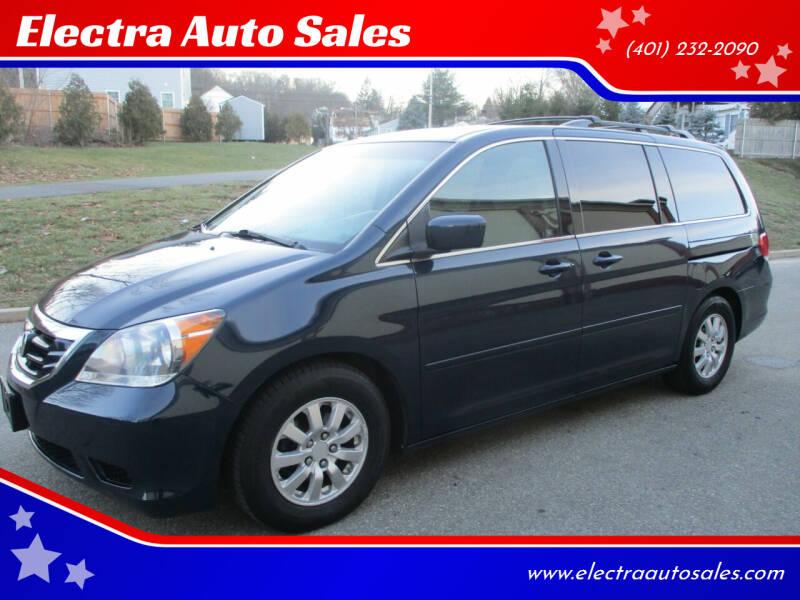 2010 Honda Odyssey for sale at Electra Auto Sales in Johnston RI