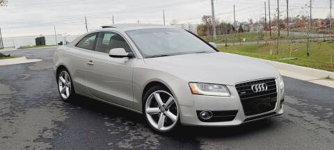 2010 Audi A5 for sale at BOOST MOTORS LLC in Sterling VA