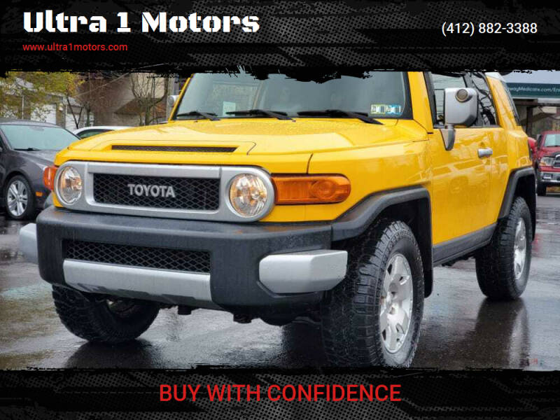 2007 Toyota FJ Cruiser for sale at Ultra 1 Motors in Pittsburgh PA