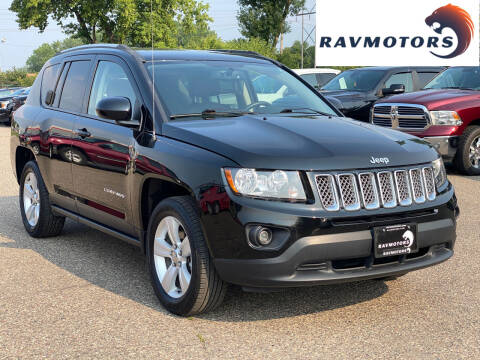2017 Jeep Compass for sale at RAVMOTORS in Burnsville MN