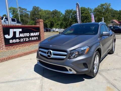 2016 Mercedes-Benz GLA for sale at J T Auto Group in Sanford NC