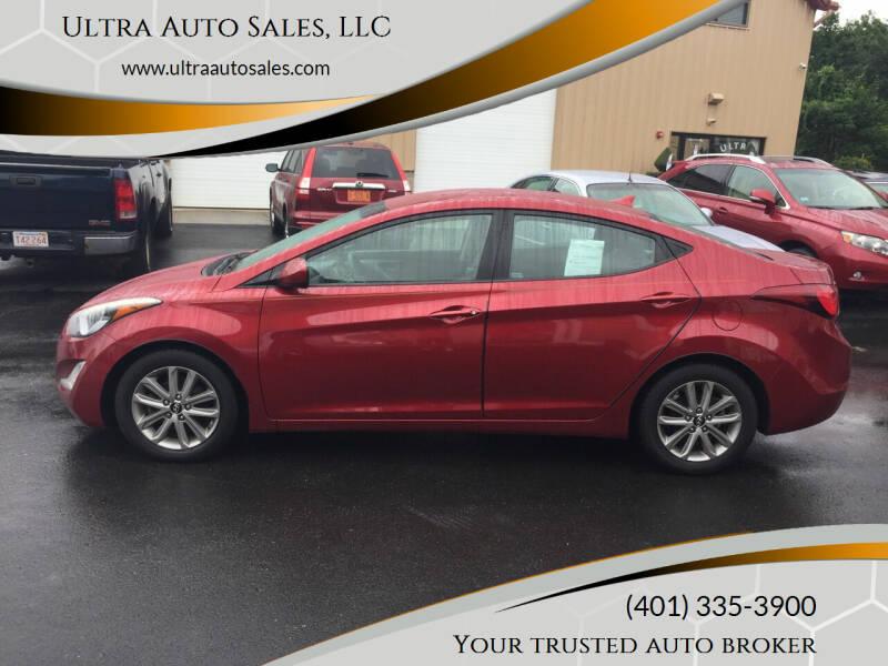 2014 Hyundai Elantra for sale at Ultra Auto Sales, LLC in Cumberland RI
