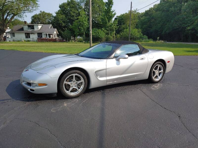 2001 Chevrolet Corvette for sale at Depue Auto Sales Inc in Paw Paw MI