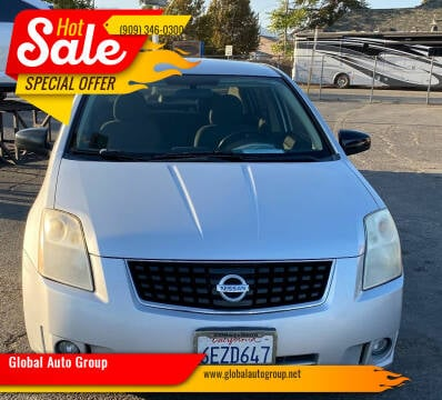 2008 Nissan Sentra for sale at Global Auto Group in Fontana CA