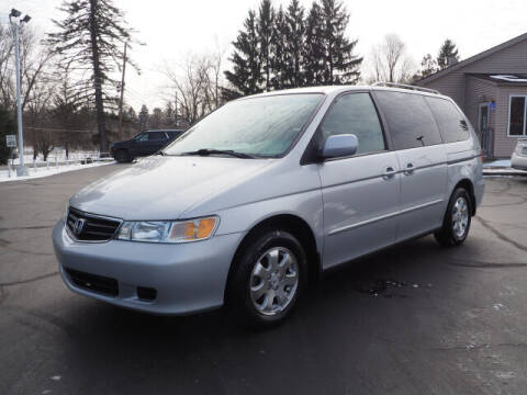 2002 Honda Odyssey for sale at Patriot Motors in Cortland OH