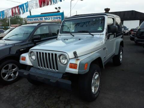 2006 Jeep Wrangler for sale at Premium Motors in Rahway NJ