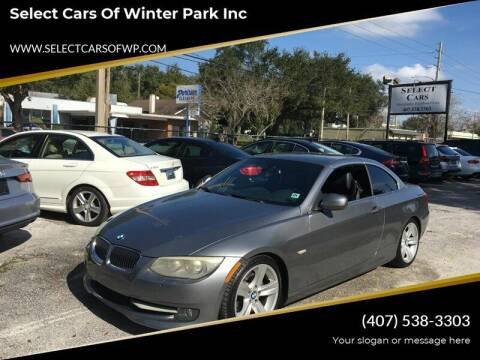 2011 BMW 3 Series for sale at Select Cars Of Winter Park Inc in Orlando FL