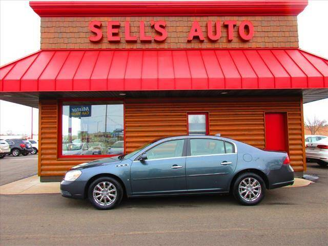 2009 Buick Lucerne for sale at Sells Auto INC in Saint Cloud MN