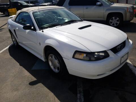 2001 Ford Mustang for sale at Freds Auto Sales LLC in Carson City NV