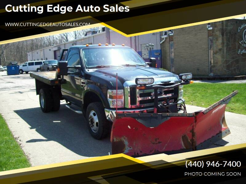 2008 Ford F-350 Super Duty for sale at Cutting Edge Auto Sales in Willoughby OH