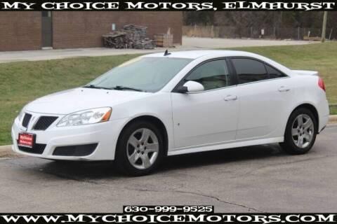 2009 Pontiac G6 for sale at My Choice Motors Elmhurst in Elmhurst IL