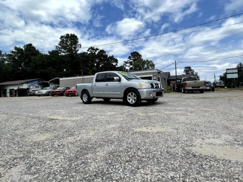 2007 Nissan Titan for sale at Barrett Auto Sales in North Augusta SC