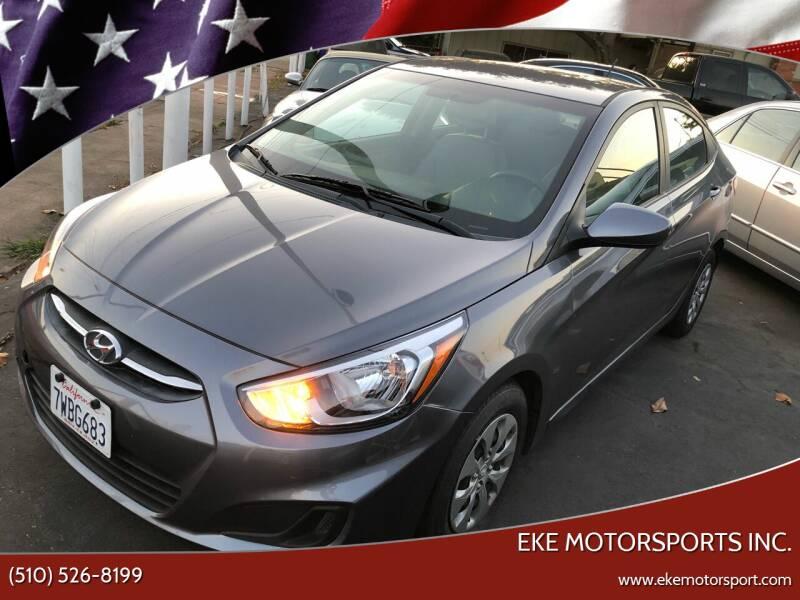 2017 Hyundai Accent for sale at EKE Motorsports Inc. in El Cerrito CA