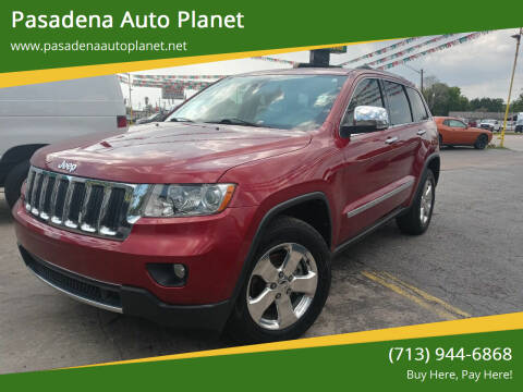 2013 Jeep Grand Cherokee for sale at Pasadena Auto Planet in Houston TX